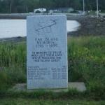 Memorial stone, Oak Island