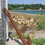 Anchor by Oak Island causeway