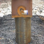 Capped drill hole, Oak Island