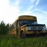 Old school bus, Oak Island