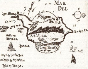 Is this Cptain Kidd's treasure map?